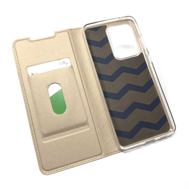 top quality For Samsung Galaxy S20 UItra - Case Magnetic Flip Leather Wallet Stand Cover - Gold