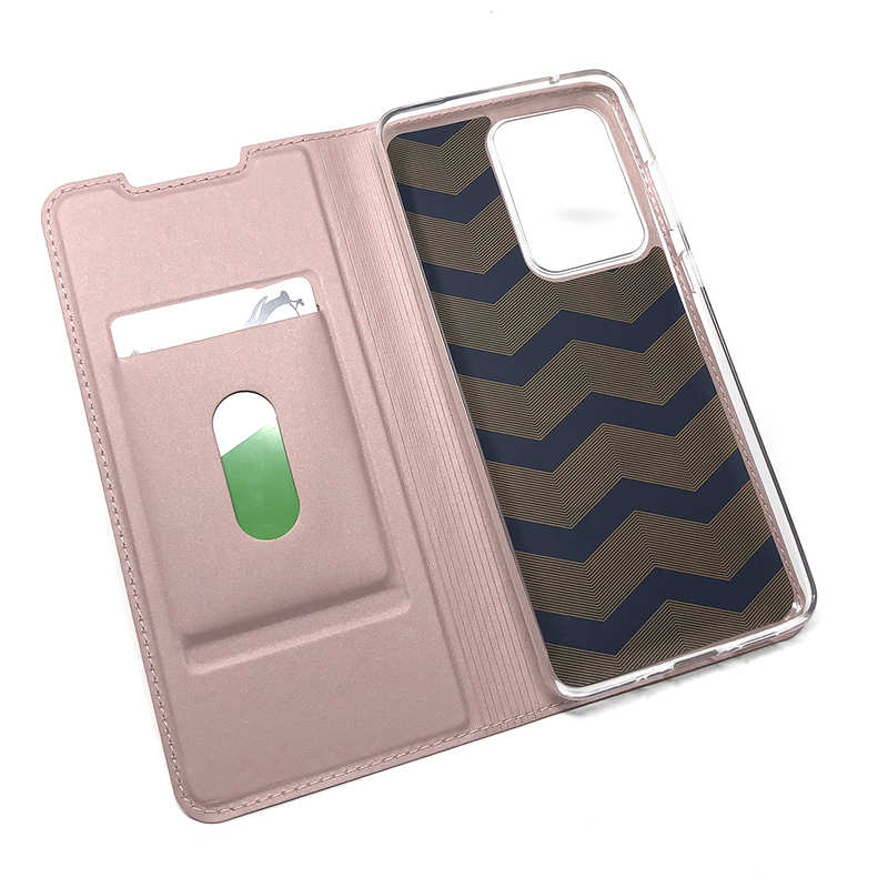 discount For Samsung Galaxy S20 UItra - Case Magnetic Flip Leather Wallet Stand Cover - Rose Gold