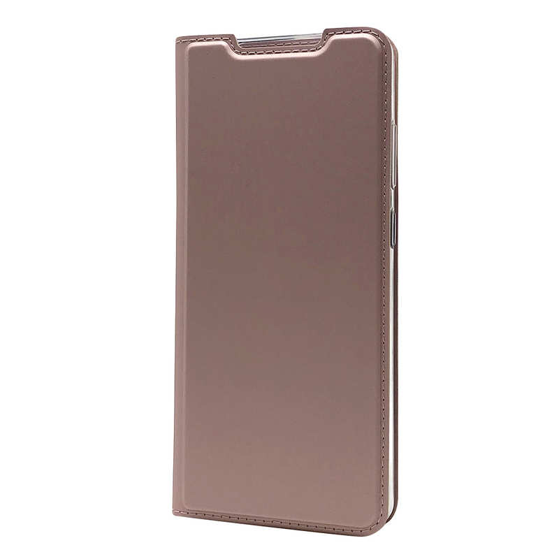 best price For Samsung Galaxy S20 UItra - Case Magnetic Flip Leather Wallet Stand Cover - Rose Gold