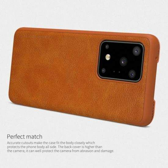low price NILLKIN Leather Wallet Card Case Cover For Samsung Galaxy S20 Ultra S20+