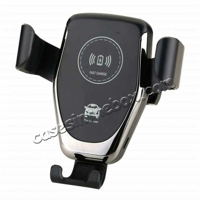 wholesale For Samsung Galaxy S20 Ultra Plus Car Mount Wireless Fast Charger Holder Stand