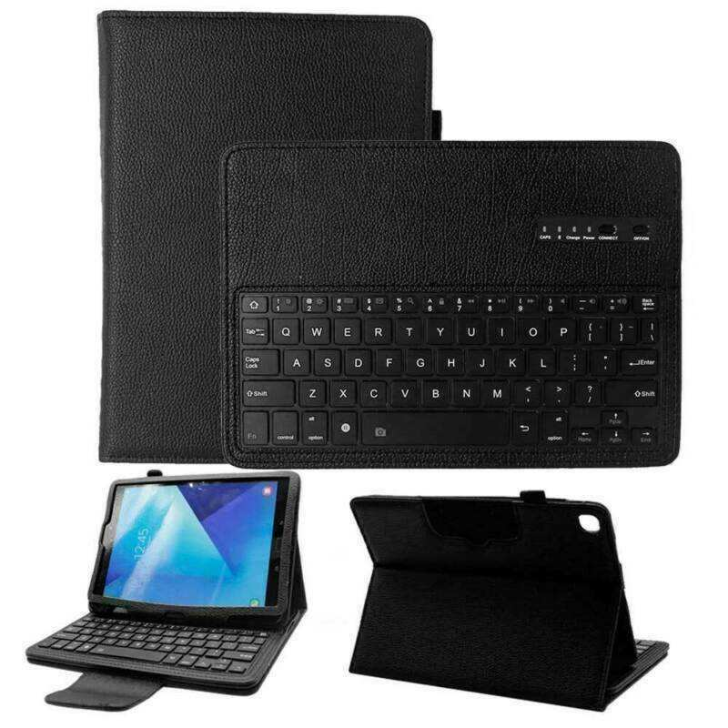 wholesale For Samsung Galaxy Tab A 10.1 8.0 T510 S6 S5e Bluetooth Keyboard Leather Folio Case Cover