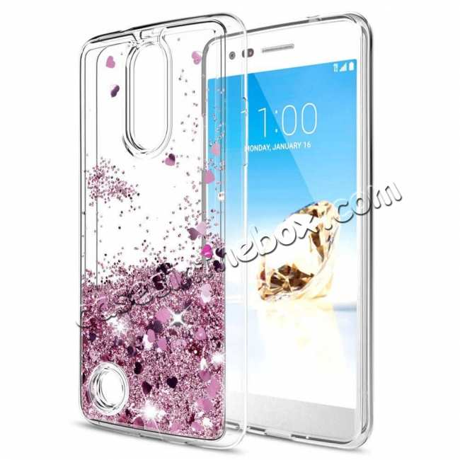 wholesale For LG K51 V60 G8 G8X V50S ThinQ 5G Phone Case Liquid Glitter TPU Soft Cover
