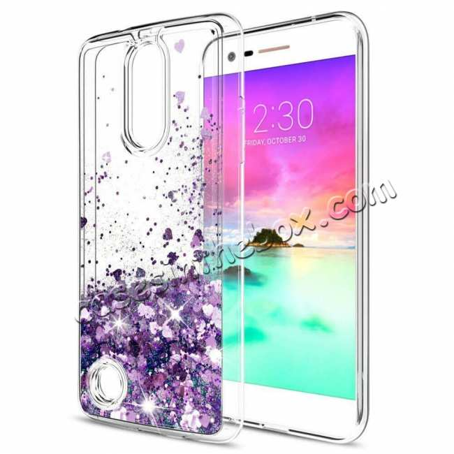 discount For LG K51 V60 G8 G8X V50S ThinQ 5G Phone Case Liquid Glitter TPU Soft Cover