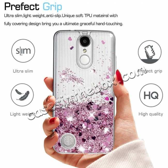 top quality For LG K51 V60 G8 G8X V50S ThinQ 5G Phone Case Liquid Glitter TPU Soft Cover