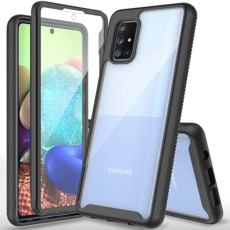 discount For Samsung Galaxy A51/ A71 5G Case Cover Full Body Bumper W/ Screen Protector