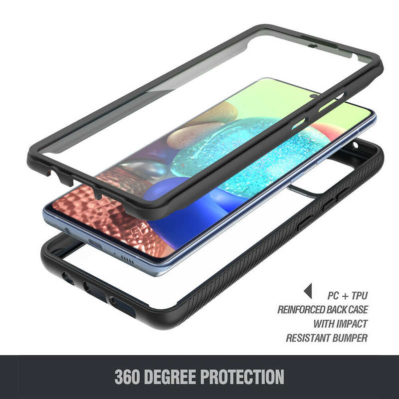 cheap For Samsung Galaxy A51/ A71 5G Case Cover Full Body Bumper W/ Screen Protector