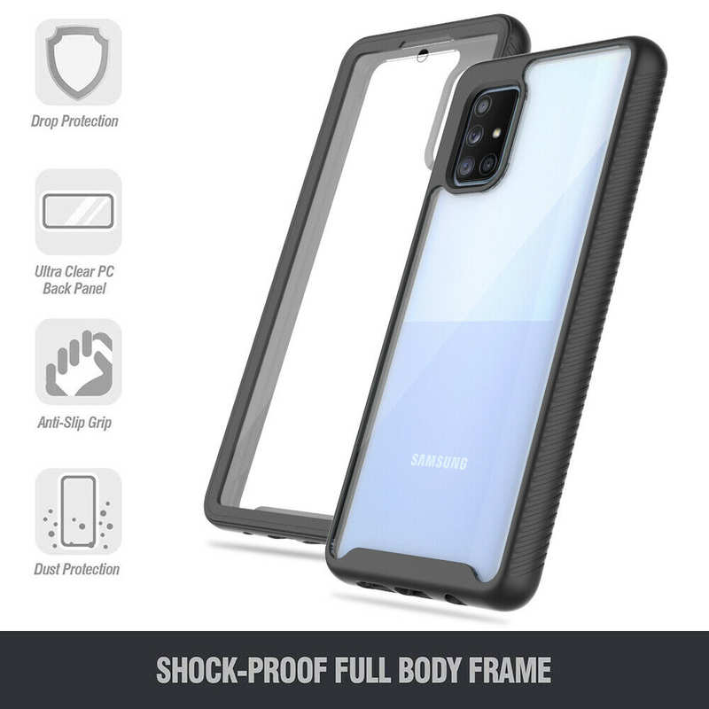 top quality For Samsung Galaxy A51/ A71 5G Case Cover Full Body Bumper W/ Screen Protector