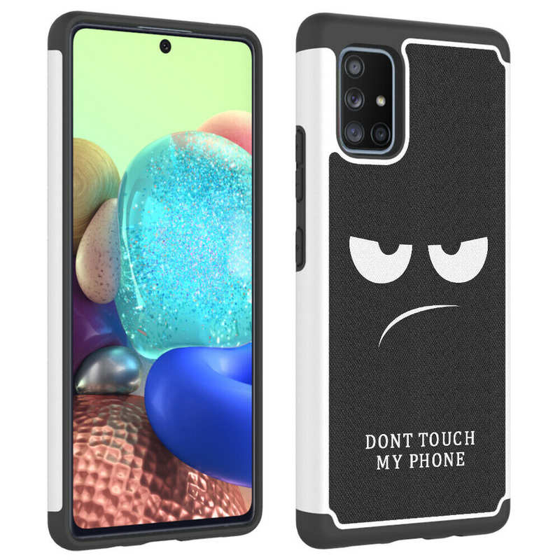 cheap For Samsung Galaxy A11 A21 A71 5G UW Heavy Duty Dual Layer Protective Hard Case