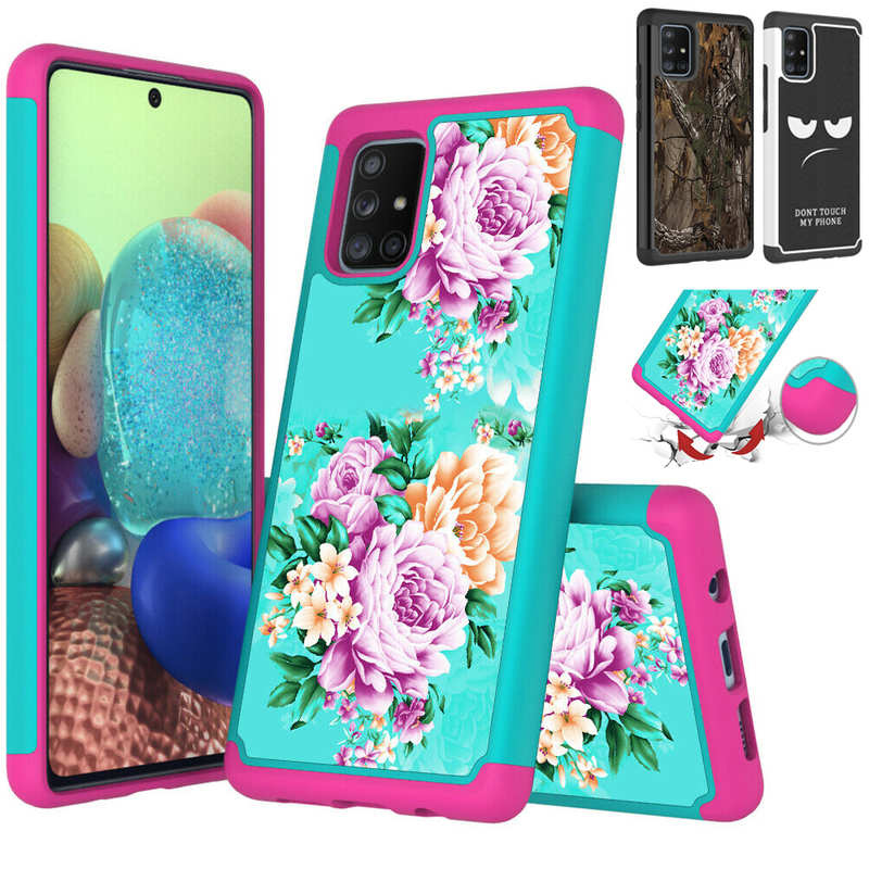 wholesale For Samsung Galaxy A11 A21 A71 5G UW Heavy Duty Dual Layer Protective Hard Case