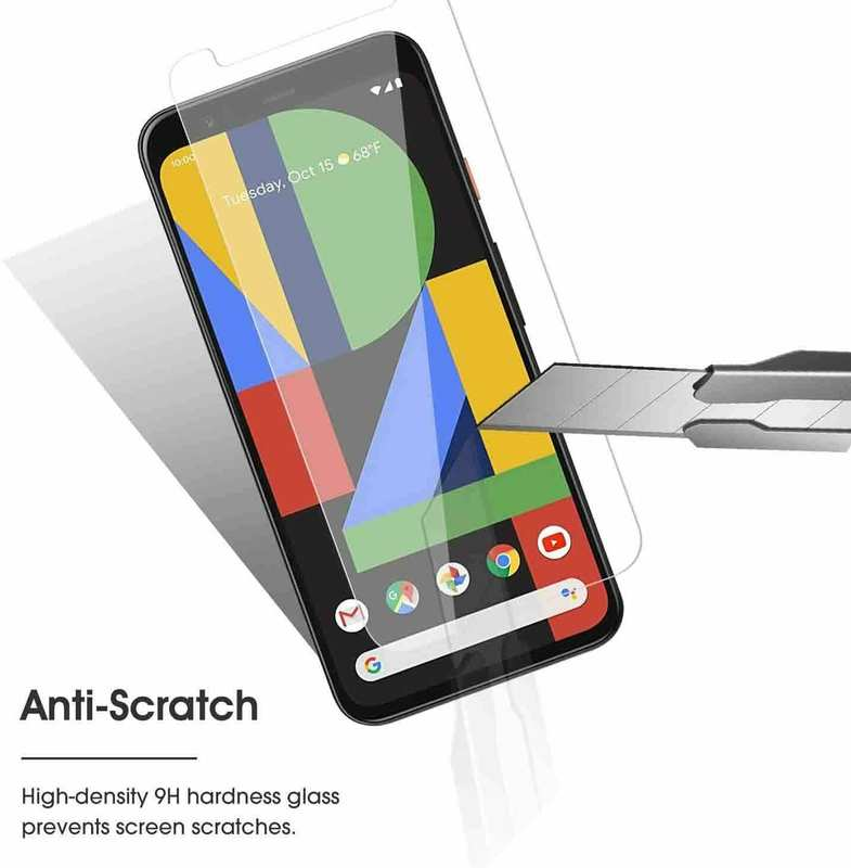 wholesale For Google Pixel 5 4a 4 3a 3 XL Premium HD Clear Tempered Glass Screen Protector
