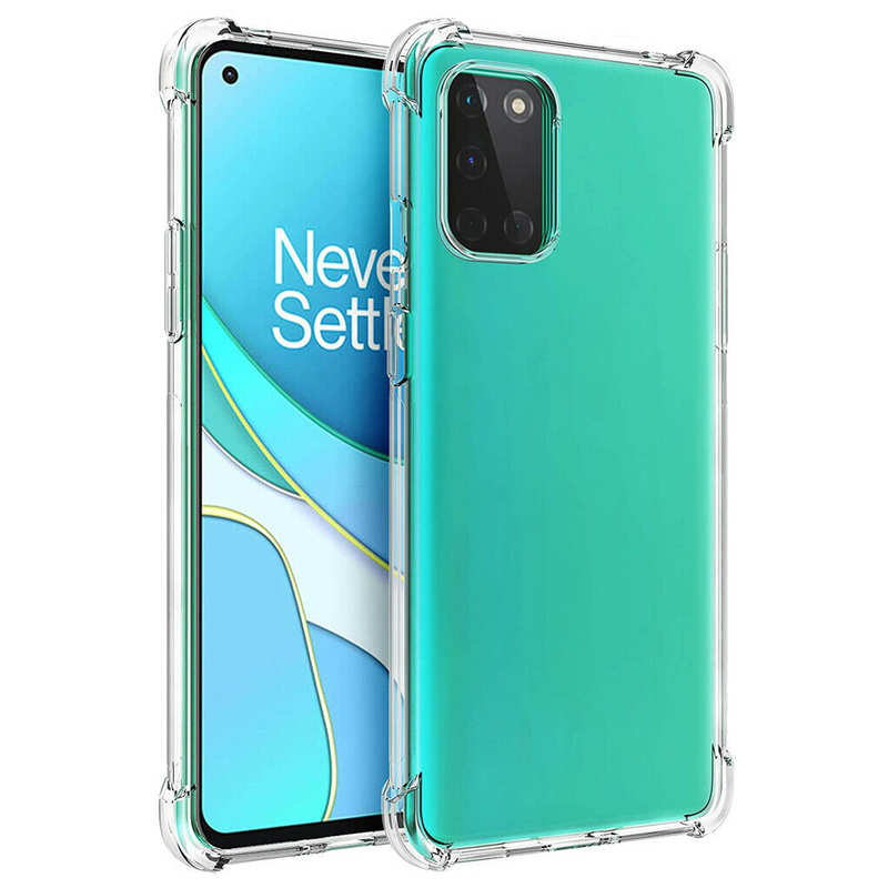wholesale For OnePlus 8T / 8T Plus 5G Case Clear Shockproof Flexible TPU Soft Protective Soft Cover