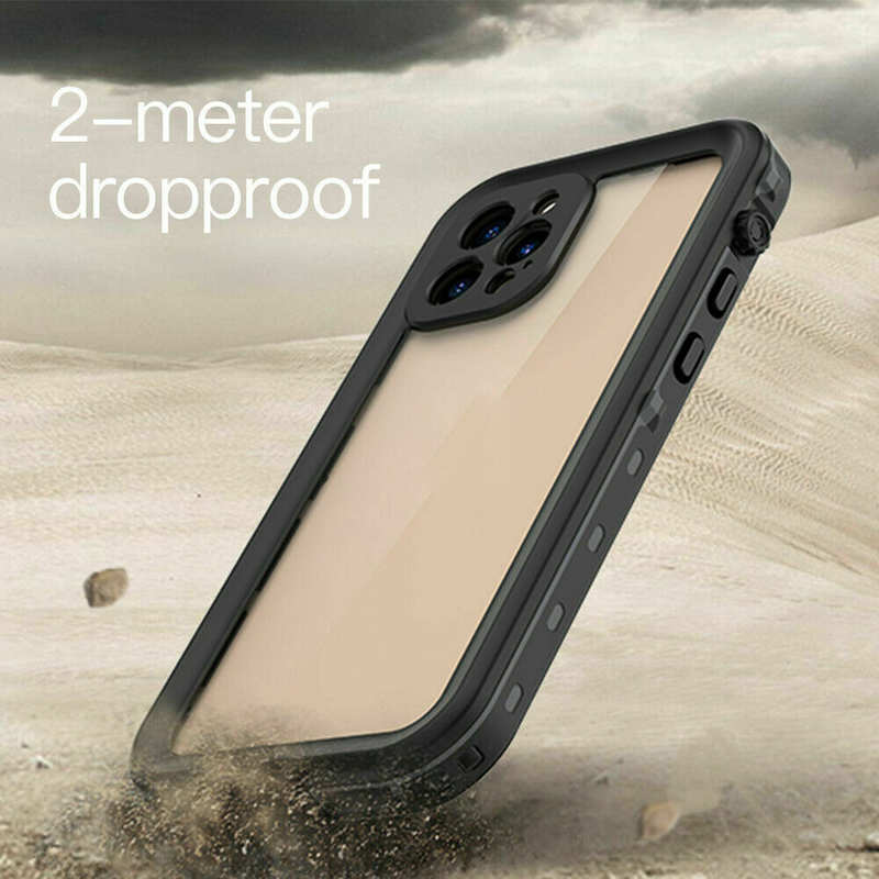 high quanlity For iPhone 12 Mini Pro Max Case Waterproof Shockproof Dirtproof Snowproof