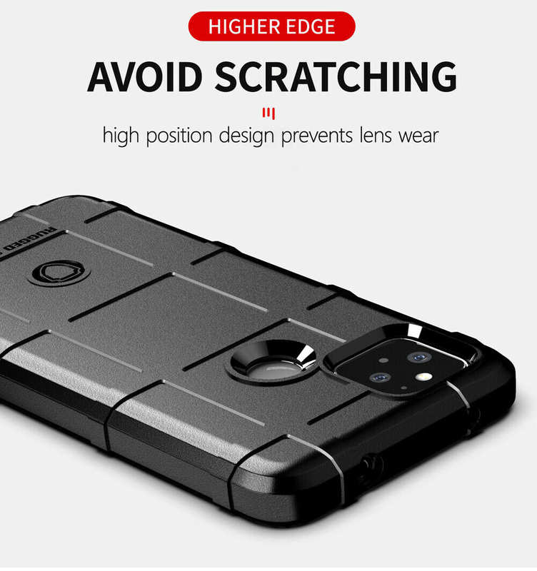 low price For Google Pixel 5 4A 5G Phone Case Shockproof Flexible TPU Protective Cover