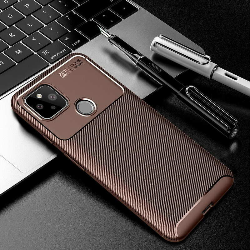 china wholesale For Google Pixel 4a (4G) Case Carbon Fiber Slim Soft TPU Cover