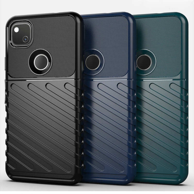 wholesale For Google Pixel 4A 4G Case Shockproof Soft TPU Protective Cover