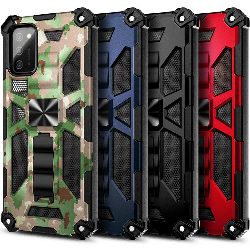 wholesale For Samsung Galaxy A32 A52 A72 5G Case Rugged Amour Cover with Built-in Kickstand