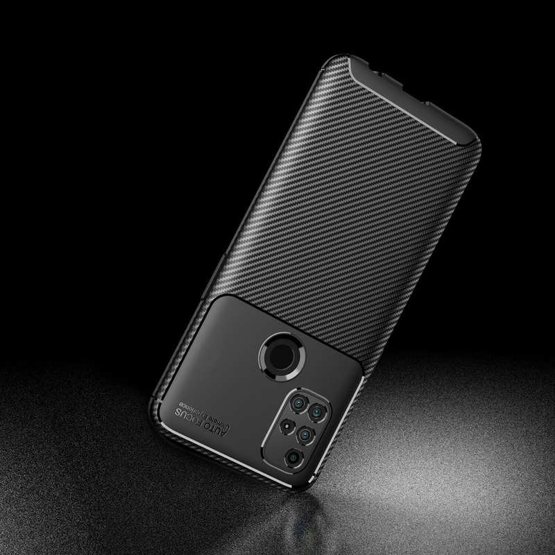 top quality For OnePlus Nord N10 5G N100 Phone Case Rubber Carbon Fiber Protective Cover