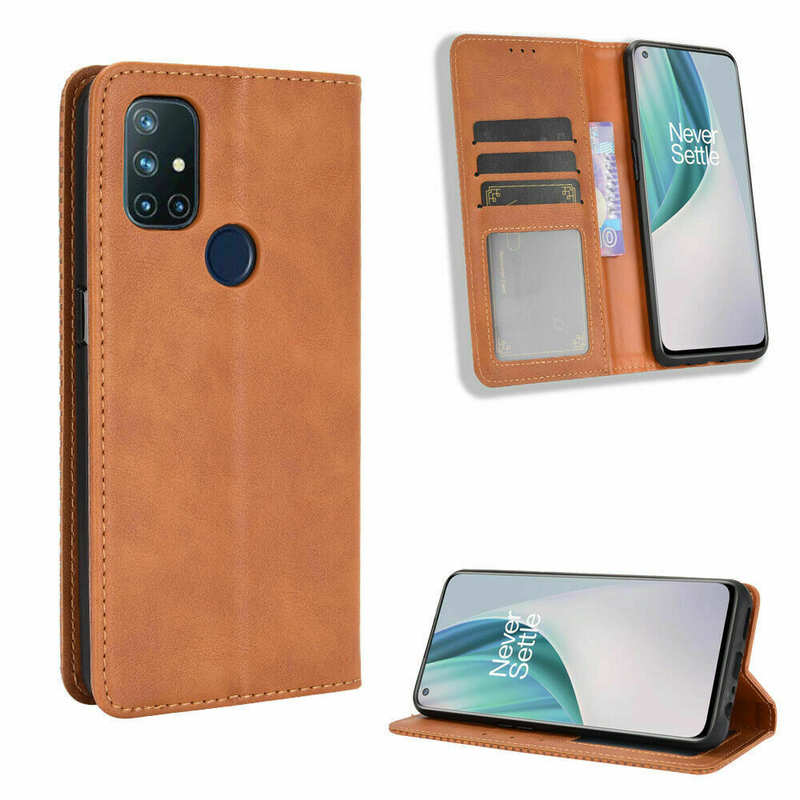discount For OnePlus 9 Pro Nord N10 5G N100 Phone Case Magnetic Leather Wallet Stand Cover