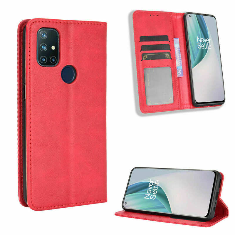 cheap For OnePlus 9 Pro Nord N10 5G N100 Phone Case Magnetic Leather Wallet Stand Cover