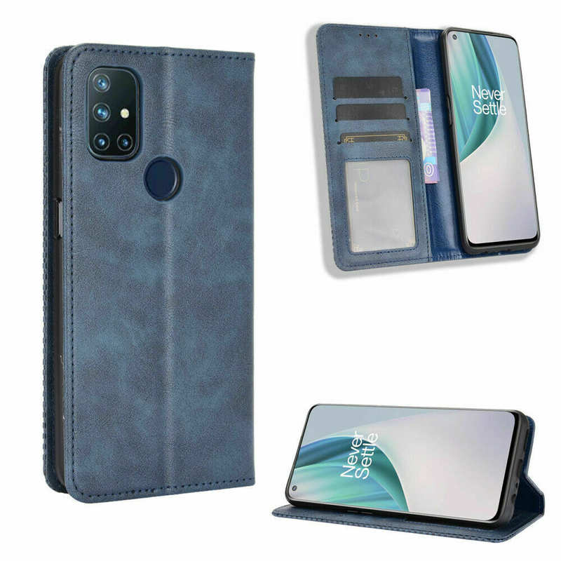 top quality For OnePlus 9 Pro Nord N10 5G N100 Phone Case Magnetic Leather Wallet Stand Cover