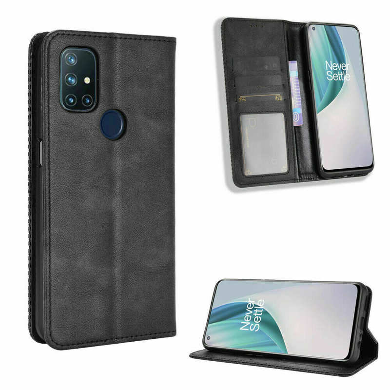 high quanlity For OnePlus 9 Pro Nord N10 5G N100 Phone Case Magnetic Leather Wallet Stand Cover
