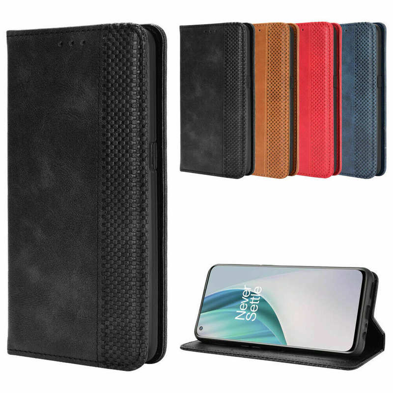 wholesale For OnePlus 9 Pro Nord N10 5G N100 Phone Case Magnetic Leather Wallet Stand Cover
