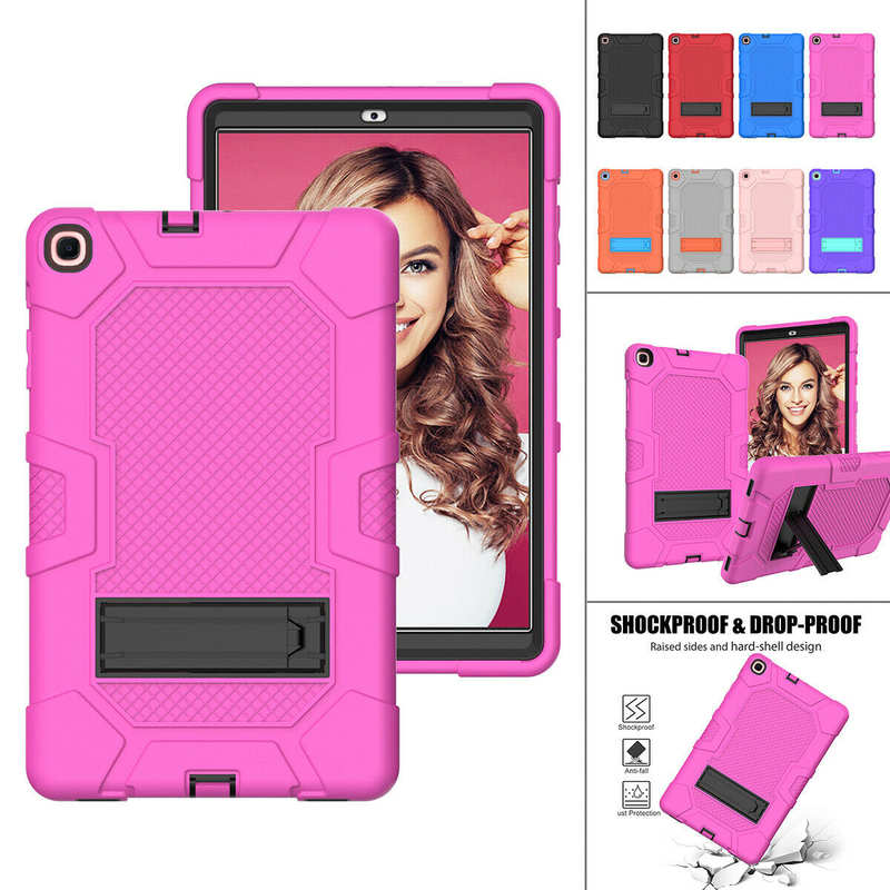 wholesale For Samsung Galaxy Tab A7 10.4 SM-T500 T505 Case Impact Shockproof Hybrid Stand Cover