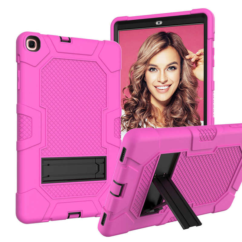 discount For Samsung Galaxy Tab A7 10.4 SM-T500 T505 Case Impact Shockproof Hybrid Stand Cover