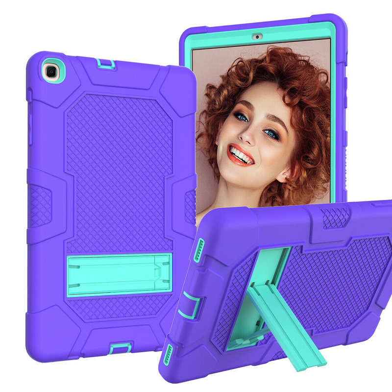 low price For Samsung Galaxy Tab A7 10.4 SM-T500 T505 Case Impact Shockproof Hybrid Stand Cover