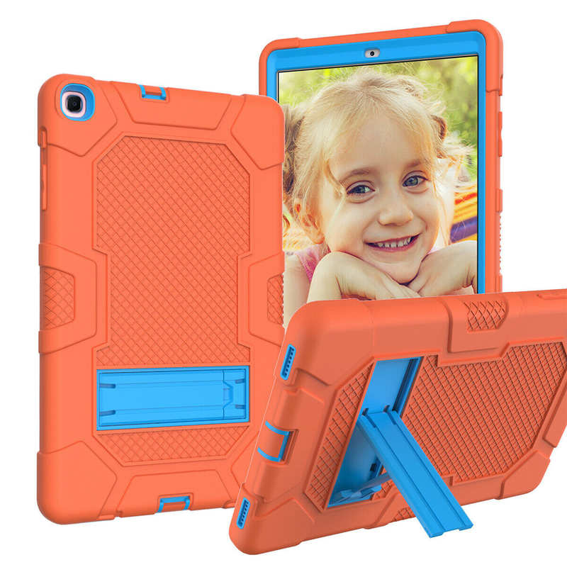 high quanlity For Samsung Galaxy Tab A7 10.4 SM-T500 T505 Case Impact Shockproof Hybrid Stand Cover