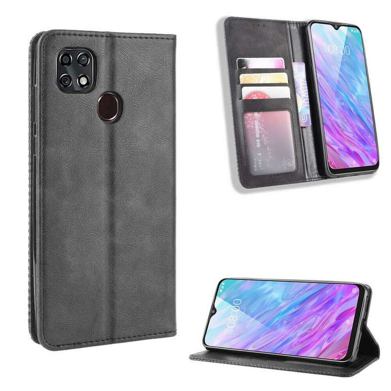 on sale For ZTE Zmax 10 /Consumer Cellular Zmax-10 Wallet Case Leather Flip Stand Cover