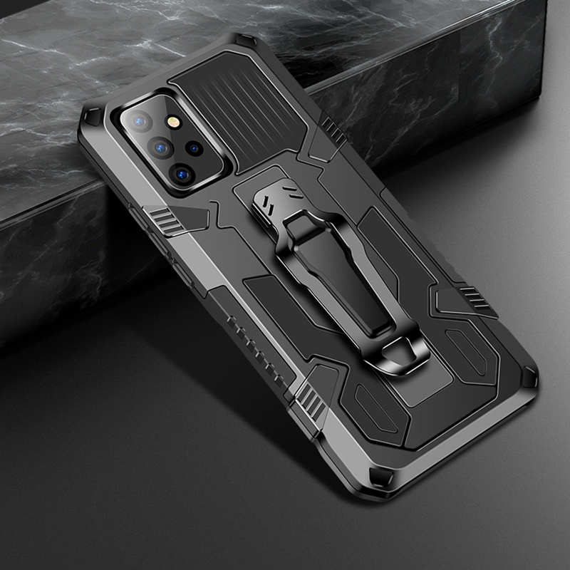 on sale For Samsung Galaxy A42 5G Case Shockproof Stand Cover With Belt Clip