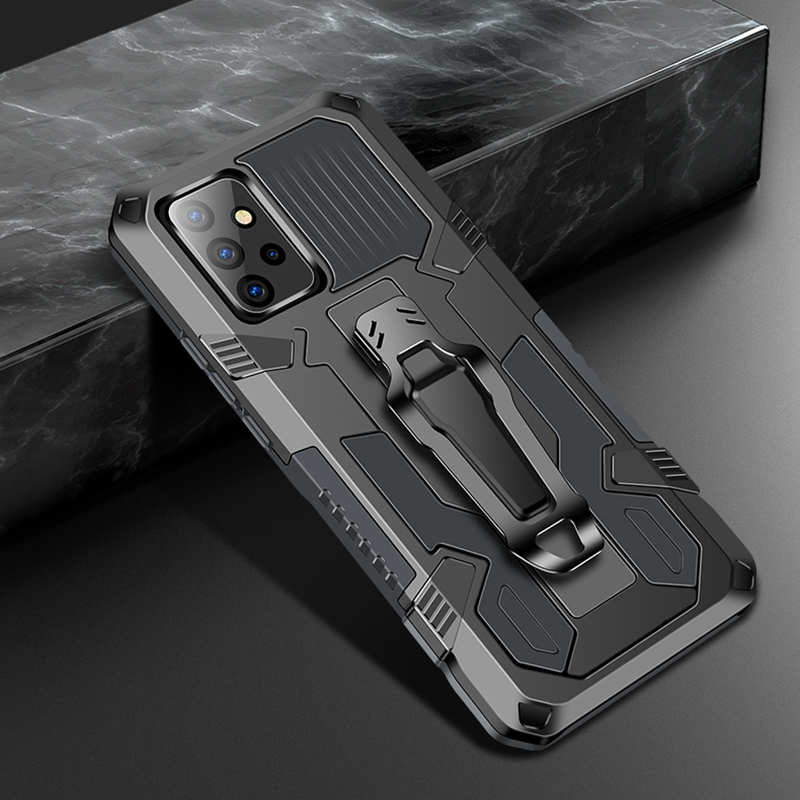 low price For Samsung Galaxy A42 5G Case Shockproof Stand Cover With Belt Clip